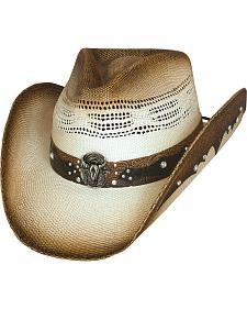 Bullhide Hats Sun Is Shining Straw Cowboy Hat