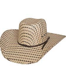 Bullhide Men's Bronc Ballet 50X Straw Cowboy Hat