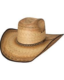 Bullhide Men's Troubadour 15X Straw Cowboy Hat