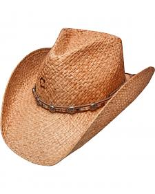 Charlie 1 Horse Men's Indian Summer Straw Western Hat