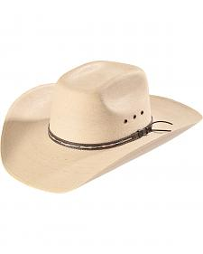 Resistol Men's Natural Palm Straw Briggs Cowboy Hat