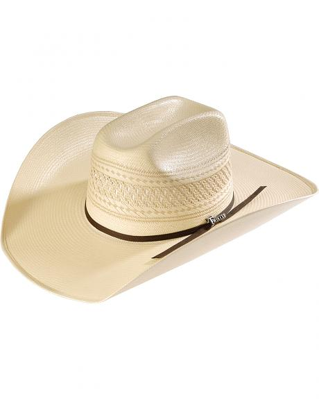 Twister All Over Shantung Cowboy Hat