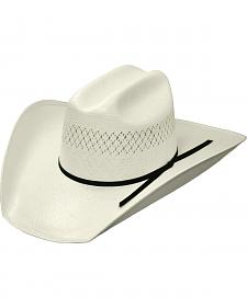 Master Hatters Natural Stockman 20X Straw Hat