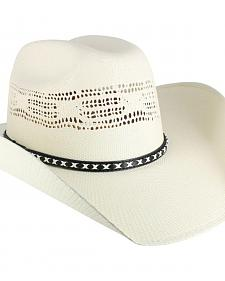 Cody James Men's Bangora Straw Cowboy Hat