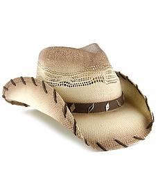 Cody James Saddle Straw Cowboy Hat