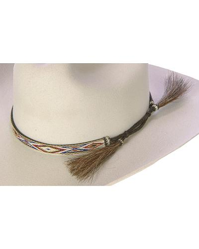 Horsehair Tapestry Hat Band Western & Country 229599