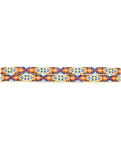 Multi Color Beaded Hatband Western & Country 2722