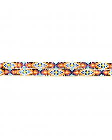 Multi Color Beaded Hatband