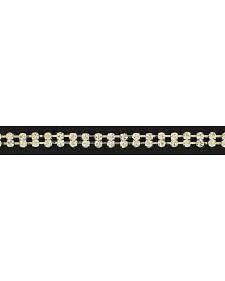 Double Row Rhinestone Hatband