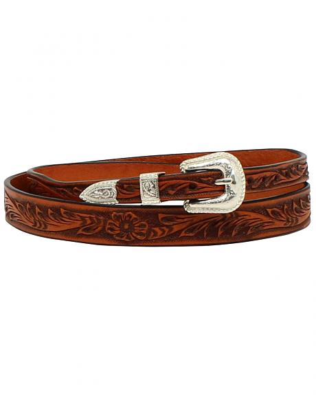 M & F Western Men's Tooled Leather Hatband