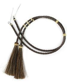 Cody James Brown Braided Leather Stampede String