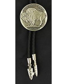 Buffalo Nickel Bolo Tie