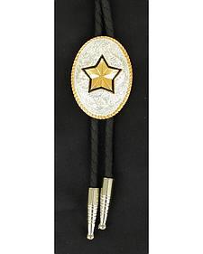 Gold-tone Star Bolo Tie