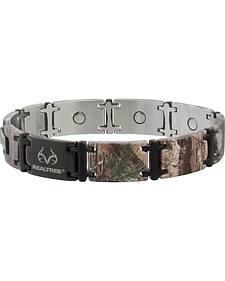 Sabona Realtree Camo Black Magnum Magnetic Bracelet