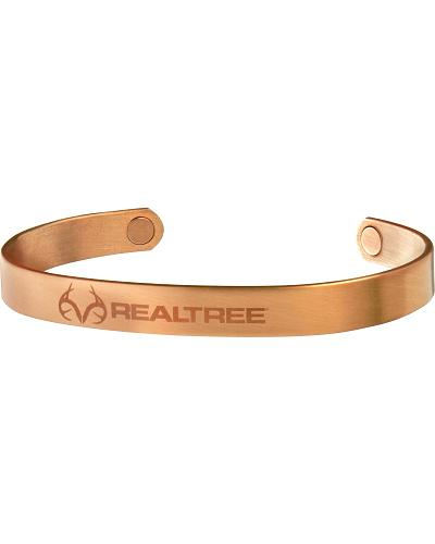 Sabona Mens Realtree Brushed Copper Wristband Western & Country 440