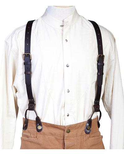 WahMaker Old West by Scully Leather Suspenders $40.74 AT vintagedancer.com
