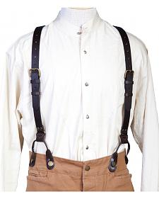WahMaker Old West by Scully Leather Suspenders