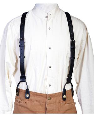 WahMaker Old West by Scully Leather Suspenders $45.99 AT vintagedancer.com