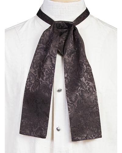 WahMaker Old West by Scully Mens Silk Puff Tie $31.04 AT vintagedancer.com