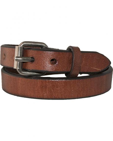 Stetson Men's Double Wrap Buckle Leather Wristband