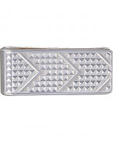 Montana Silversmiths Men's CrossCut Bright Money Clip