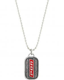 PBR Reversible With Cross Token Necklace