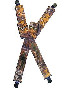 Lyntone Men's Realtree Xtra Suspenders
