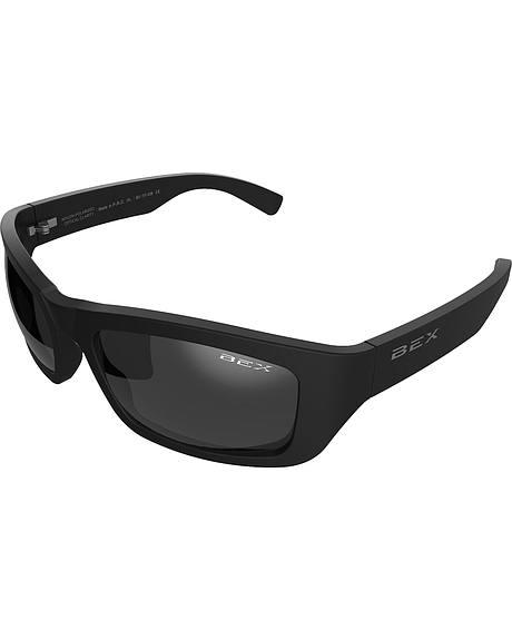 Bex Men's Ghavert Polarized Black/Grey Sunglasses