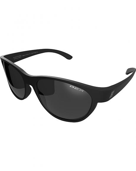 Bex Men's Ryann Polarized Black/Grey Sunglasses