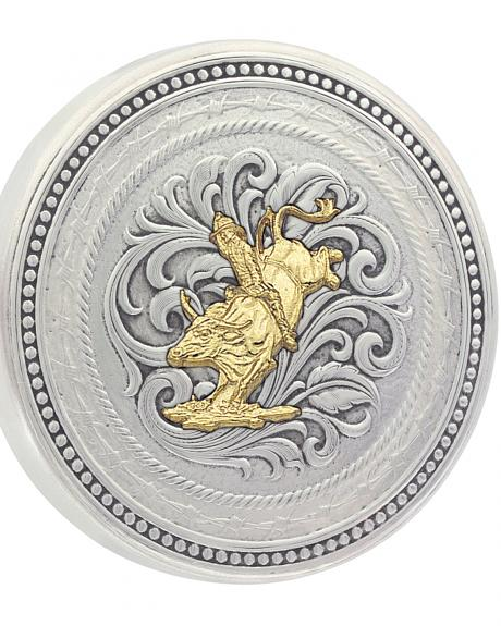 Montana Silversmiths New Traditions Stars and Barbed Wire Bullrider Snuff Lid