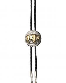 AndWest Men's Buffalo Bolo Tie