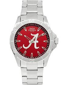 Jack Mason University of Alabama Men's Color Dial Sport Bracelet Watch
