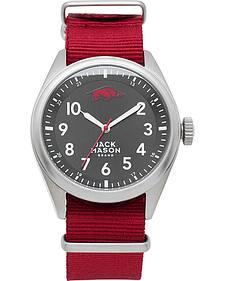 Jack Mason University of Arkansas Nato Solid Strap Watch