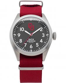 Jack Mason University of Oklahoma Nato Solid Strap Watch