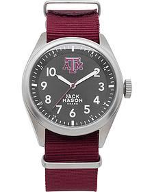 Jack Mason Texas A&M Nato Solid Strap Watch