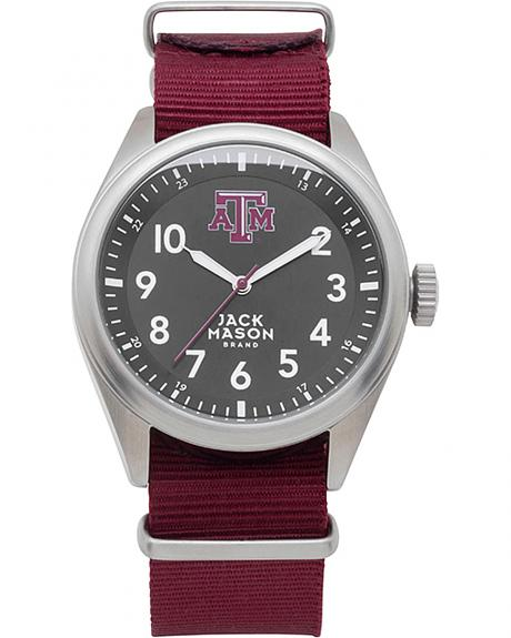 Jack Mason Texas A&M Nato Solid Strap Watch