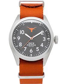Jack Mason University of Texas Nato Solid Strap Watch