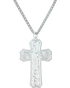 Montana Silversmiths Women's True Western Cross Necklace