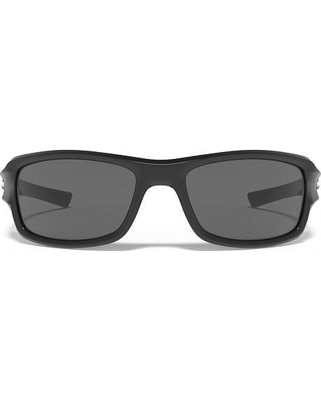Under Armour Men's UA Edge Shiny Black Sunglasses