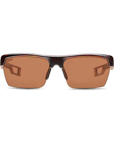 Hobie Men's Copper and Satin Brown Manta Polarized Sunglasses