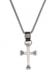 Montana Silversmiths Retro Cross Necklace