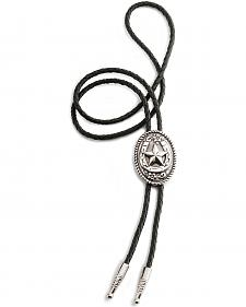 Oval Horseshoe And Star Bolo