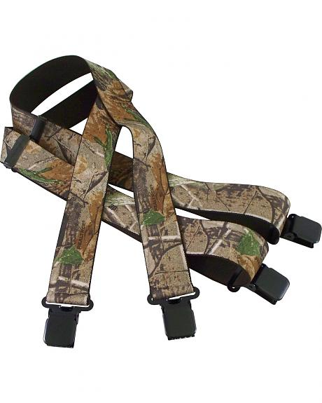 Realtree Camouflage Suspenders