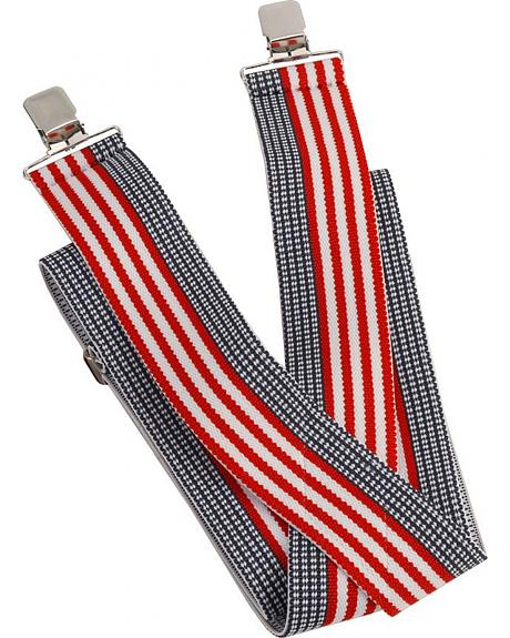 USA Stars & Stripes Suspenders
