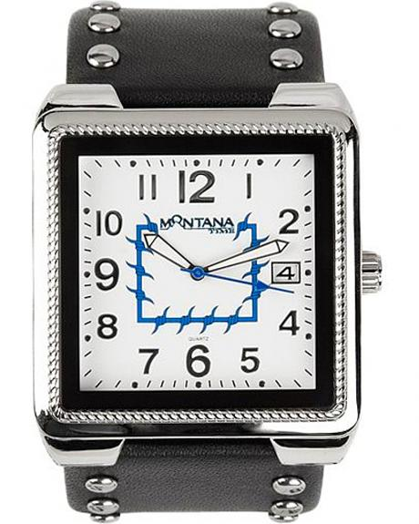 Montana Silversmiths Studded Square Watch
