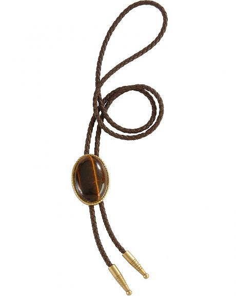 Artificial Tiger Eye Stone Bolo