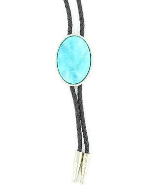Artificial Turquoise Stone Bolo