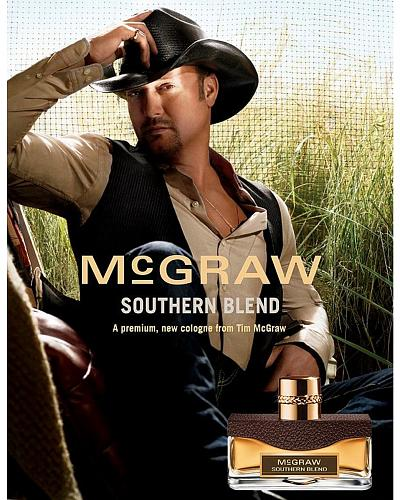 McGraw Southern Blend Cologne By Tim McGraw Western & Country 1.00Z EDTS STHRN BLD