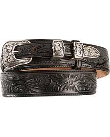 Tony Lama Tooled Leather Ranger Belt