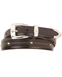 Tony Lama Denver Diamond-Shaped Stud Belt at Sheplers